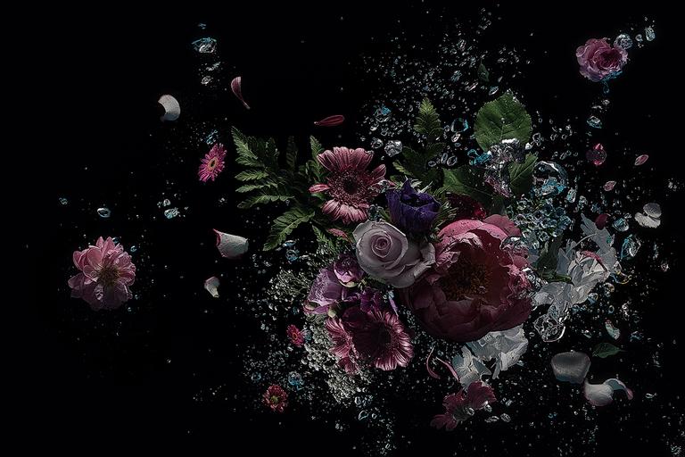 Flowers in the dark #10