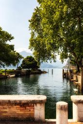 Approdo incantato, Lago di Garda