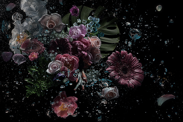 Flowers in the dark #08