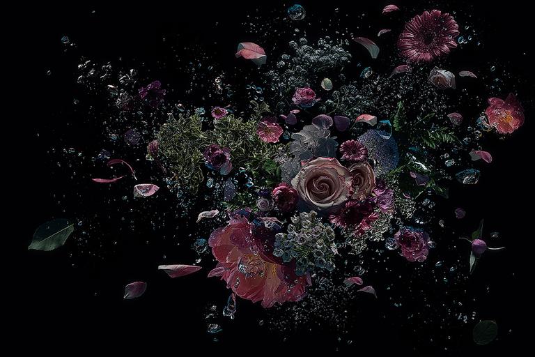 Flowers in the dark #06