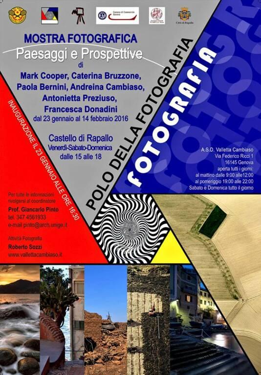 MARK COOPER AT THE CASTELLO OF RAPALLO