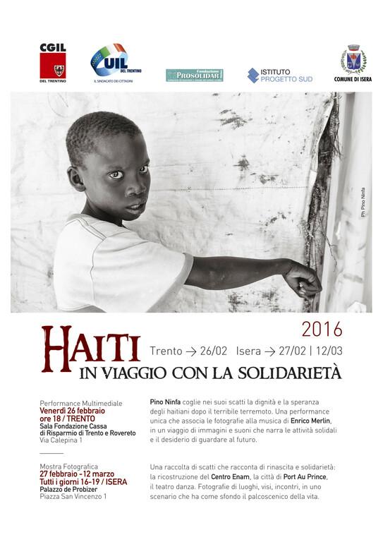 PINO NINFA PER HAITI