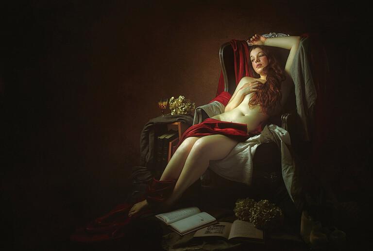 I nudi neoclassici di Thierry Bansront