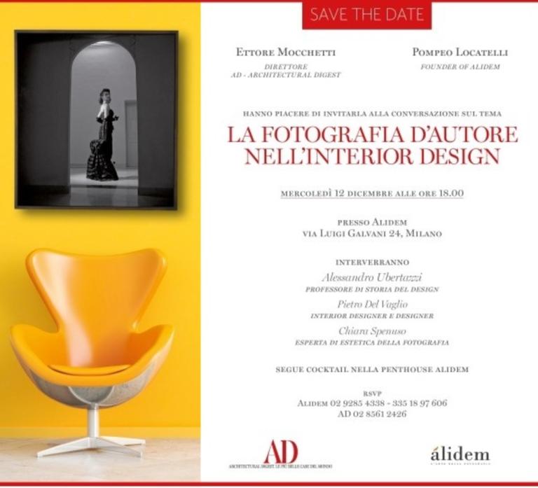 LA FOTOGRAFIA D'AUTORE NELL'INTERIOR DESIGN