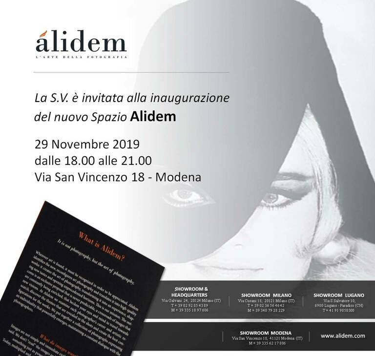 inaugurazione showroom alidem a modena